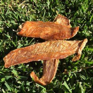 Chicken Breast Dog Treats sliced