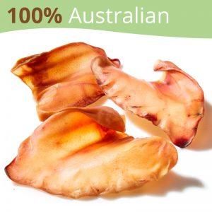 Australian Pigs Ears Dog Treats