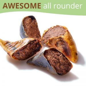 Beef Cow Hooves Roo Filled Dog Treats
