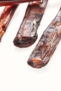 Thick Beef Dog Treats Pizzle long Plain