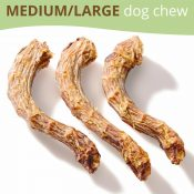 Turkey Necks Dog Treats Main