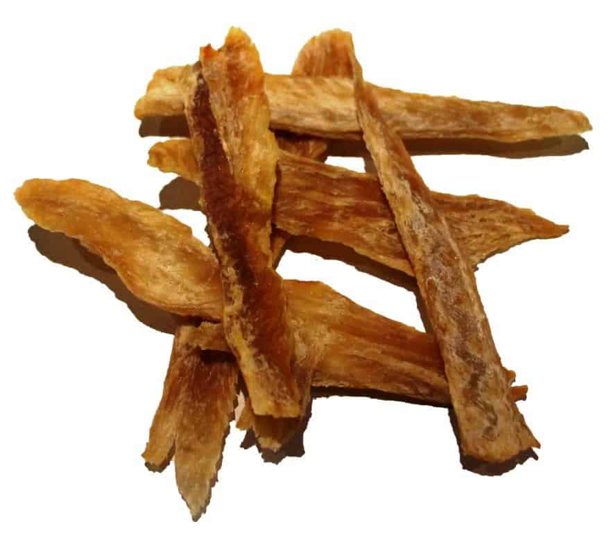 Fish Jerky Strips Dog Treats With Omega 3 The Clear Dog