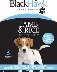 Black Hawk Holistic - Lamb and Rice Puppy 10kg