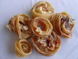Veal Tendon Scrolls