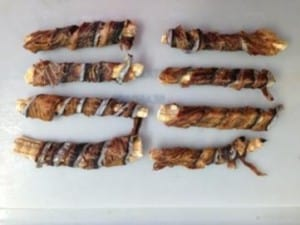 Fish Twisters Dog Chew Treats