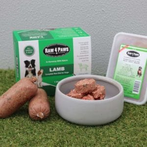 Clear Dog Treats Raw 4 Paws Lamb Containers Lamb Rolls