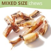 Bully Pizzle Dog Treats Chews Mixed Main