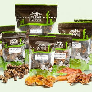 CLEAR dog treats packs, Long Lasting Treats Hamper - Medium to Large Dogs